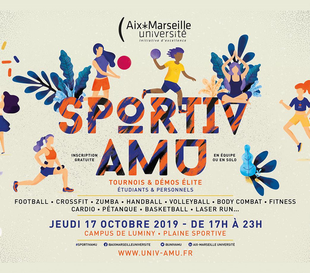 Des tournois et activités sportives lors de l'événement Sportiv AMU 2019
